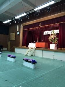 桂小学校卒業式